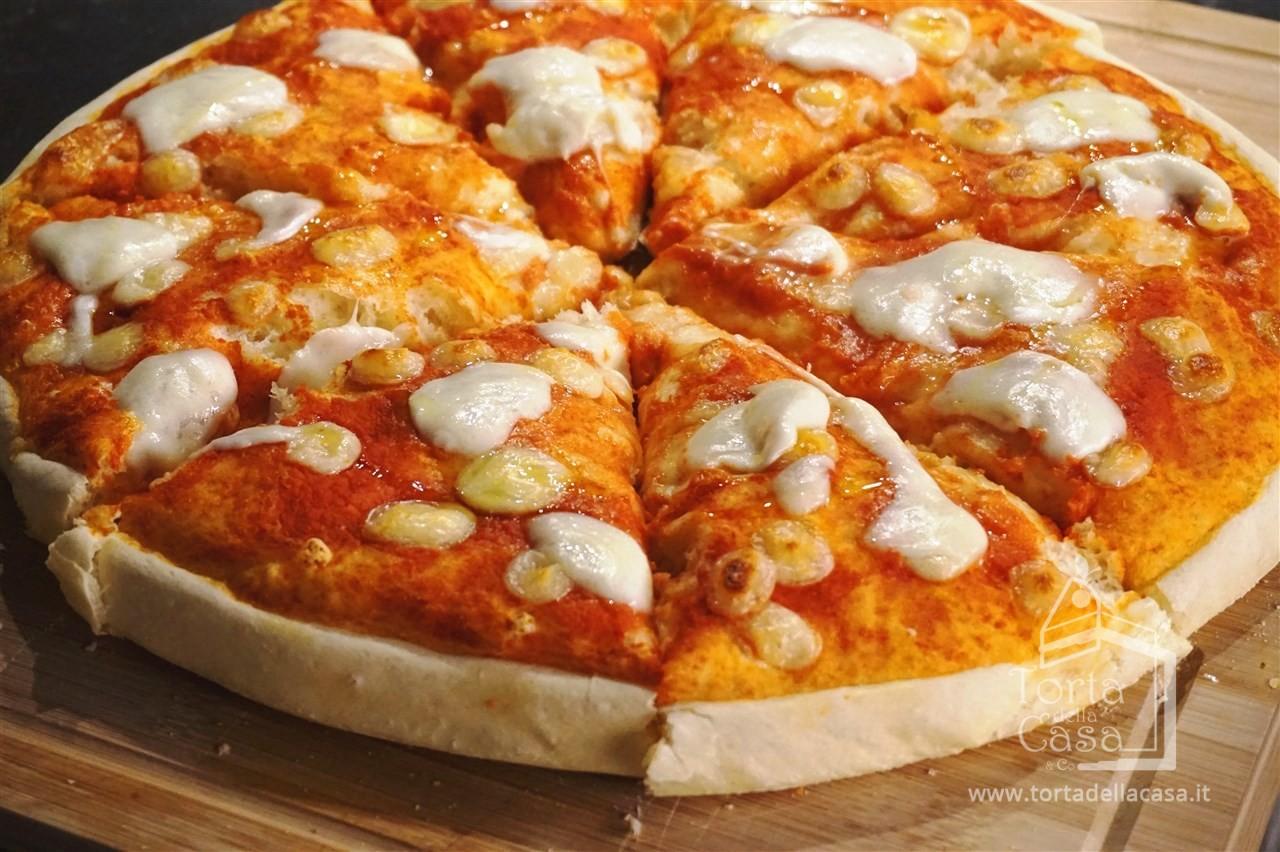 Ricetta Pizza Con Lievito Di Birra.Pizza Alta Con Lievito Di Birra Secco Ricetta Facile Di Tortadellacasa It